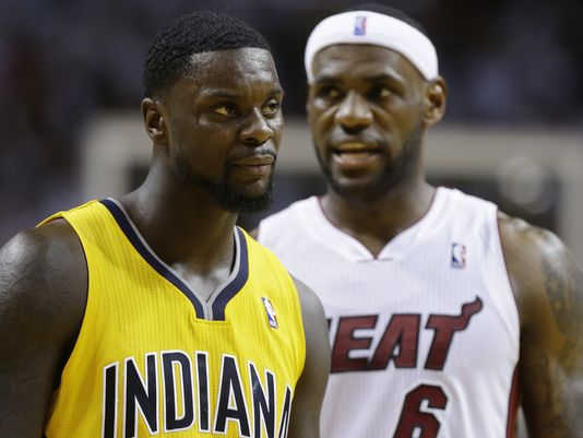 Lance Stephenson Lebron James Choke