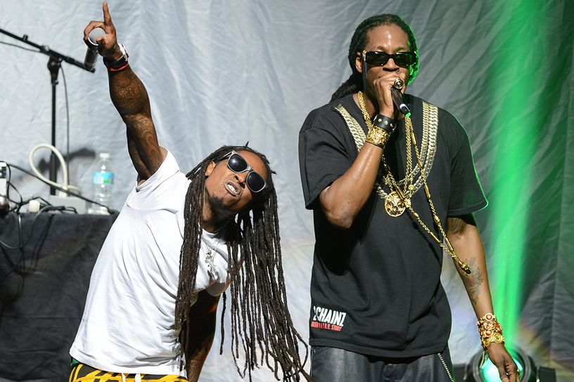 lil wayne and  chainz nicki minaj tour at james l knight center