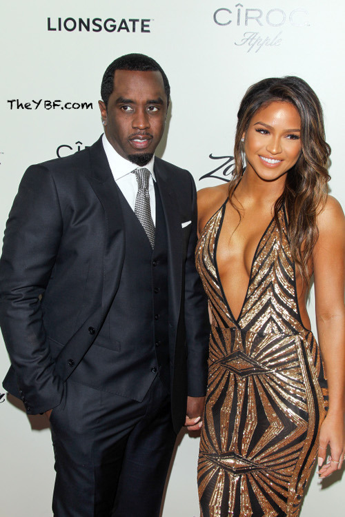 HOLLYWOOD, CA - MARCH 7: Sean Combs and Cassie Ventura at the premiere of Lionsgate's 'The Perfect Match' at ArcLight Hollywood on March 7, 2016 in Hollywood, California. Credit: mpi21/MediaPunch