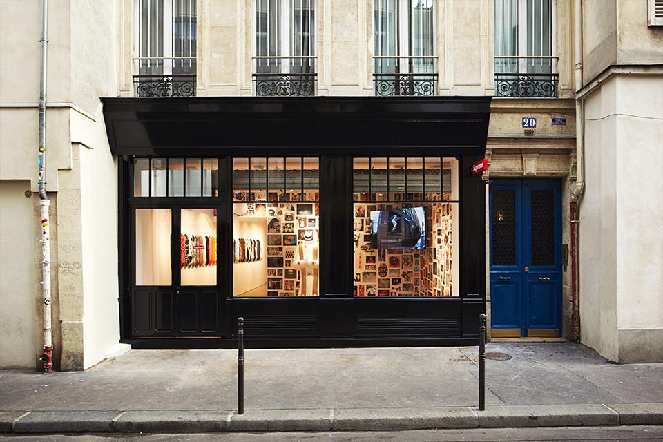 supreme paris store opening