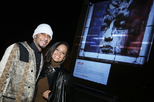 swizz-beatz-alicia-keys-art-event
