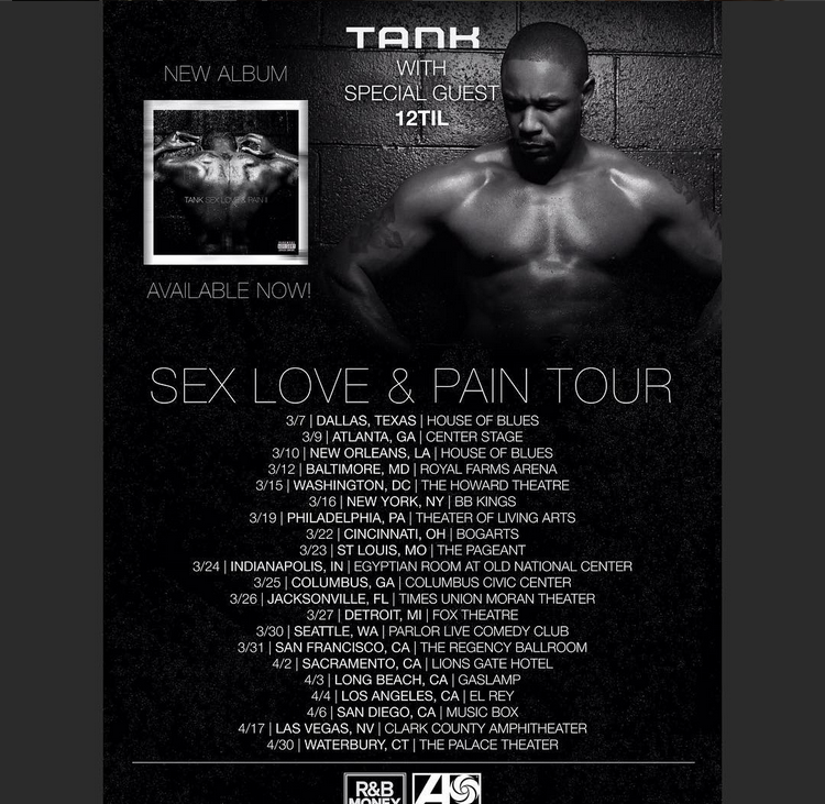 Sex love and pain tank