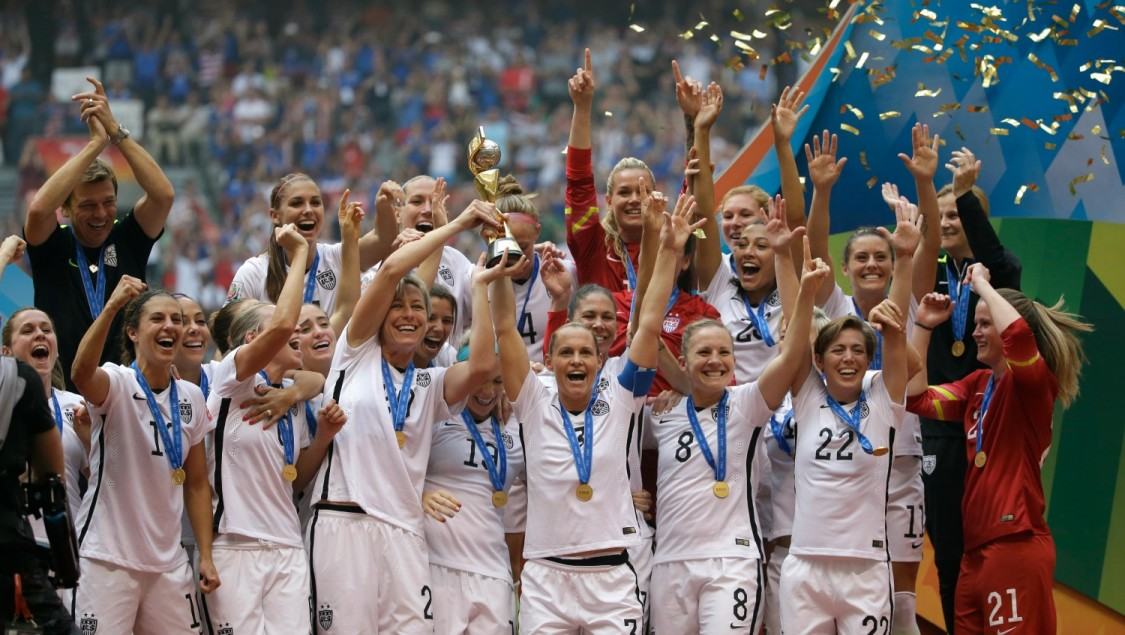 ICYMI: U.S. Women's Soccer Team Are Campaigning For Equal ...