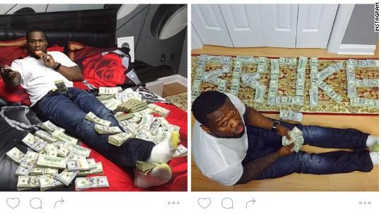 cent instagram cash