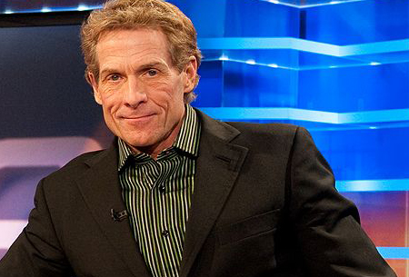 American sports columnist, author, and television personality Skip Bayless