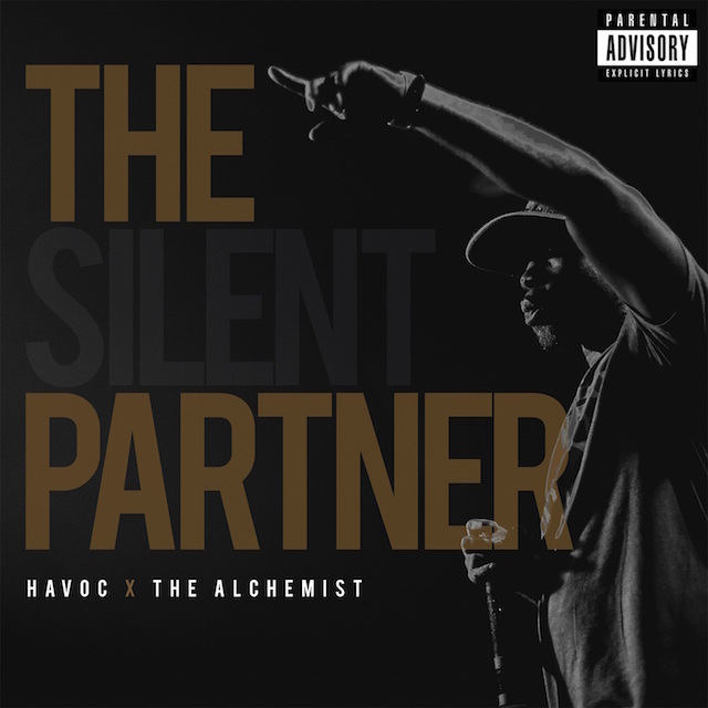 Havoc The Alchemist Silent Partner LP Cover