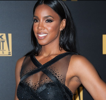 Kelly Rowland Golden Globes  fashionpheeva