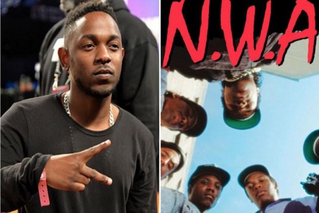 Kendrick Lamar NWA