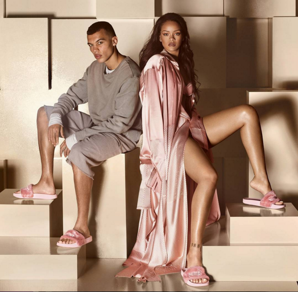 Puma Announces The Release of Rihanna s Fashionable Fur Slides  0396c8fedc31