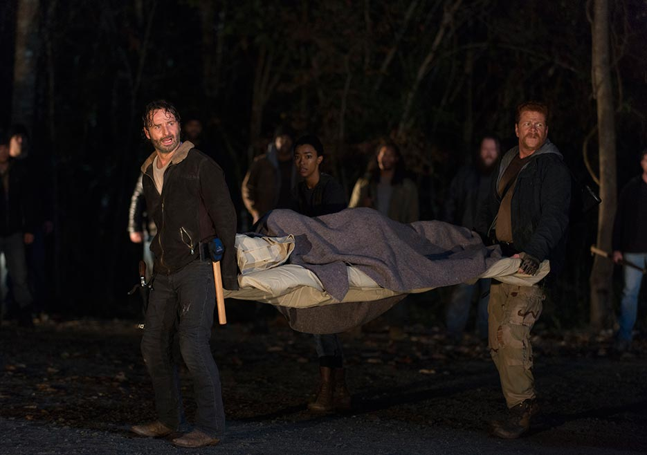 amc s walking dead season finale leaves viewers hanging the source