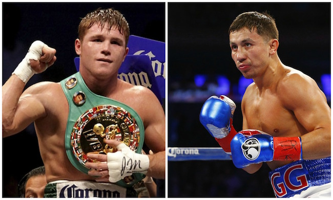 Canelo Alvarez Gennady Golovkin The Source