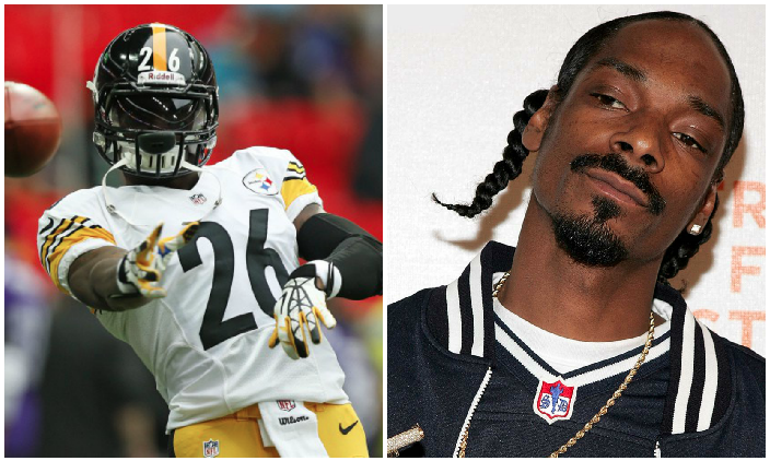 LeVeon Bell Snoop Dogg