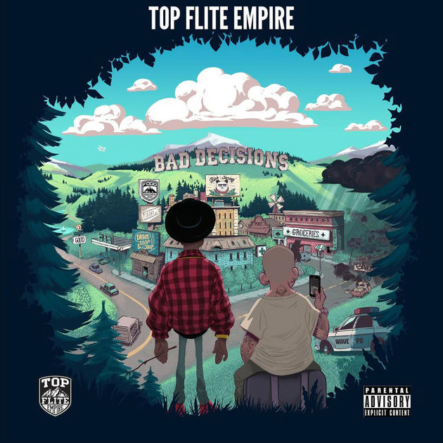 Top Flite Empire Bad Decisions cover art