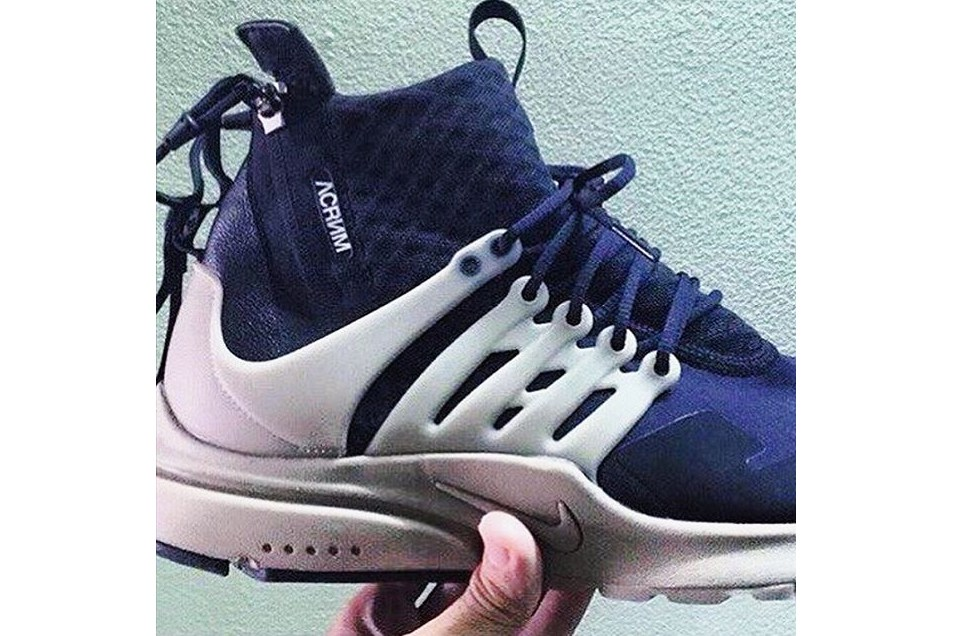 quality design 24b5d ac4d9 Acronym x Nike Air Presto First Look | The Source