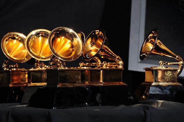grammy award trophy billboard