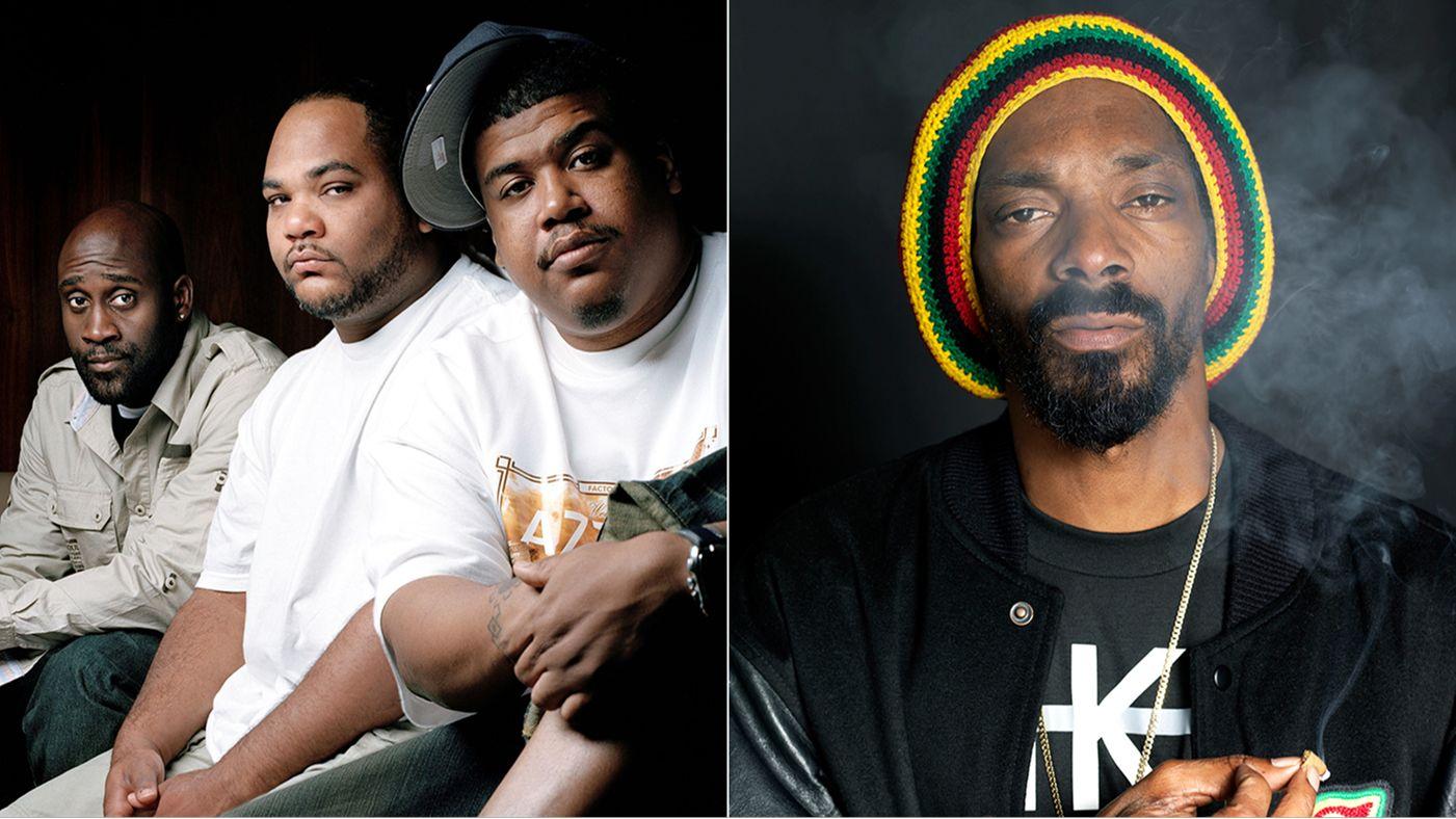 x De La Soul Snoop