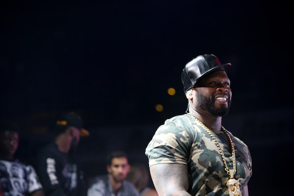 "50 Cent performs during the Hot 107.9 ""Birthday Bash 21"" at Philips Arena on Saturday, June 18, 2016, in Atlanta. BRANDEN CAMP/SPECIAL"