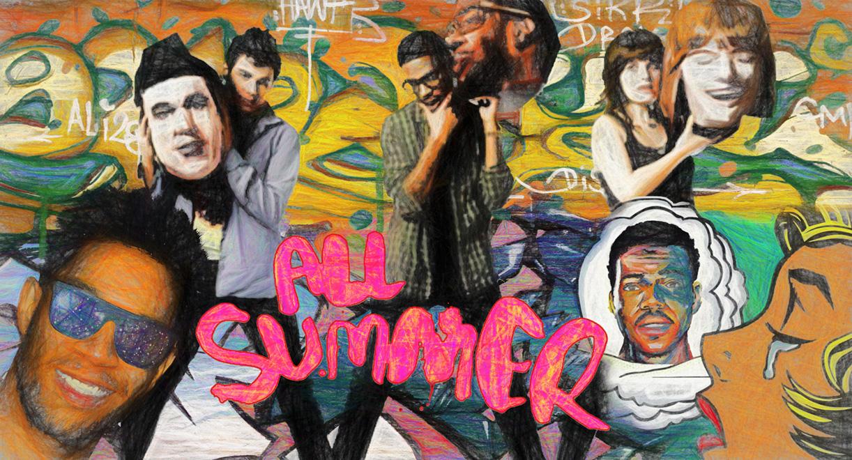 All Summer Banner