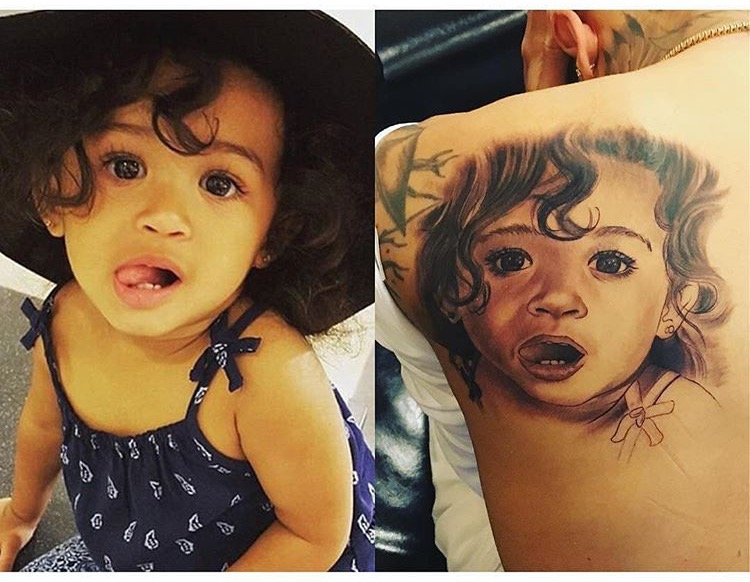 Chris Brown Flaunts His Love For Daughter Royalty With New