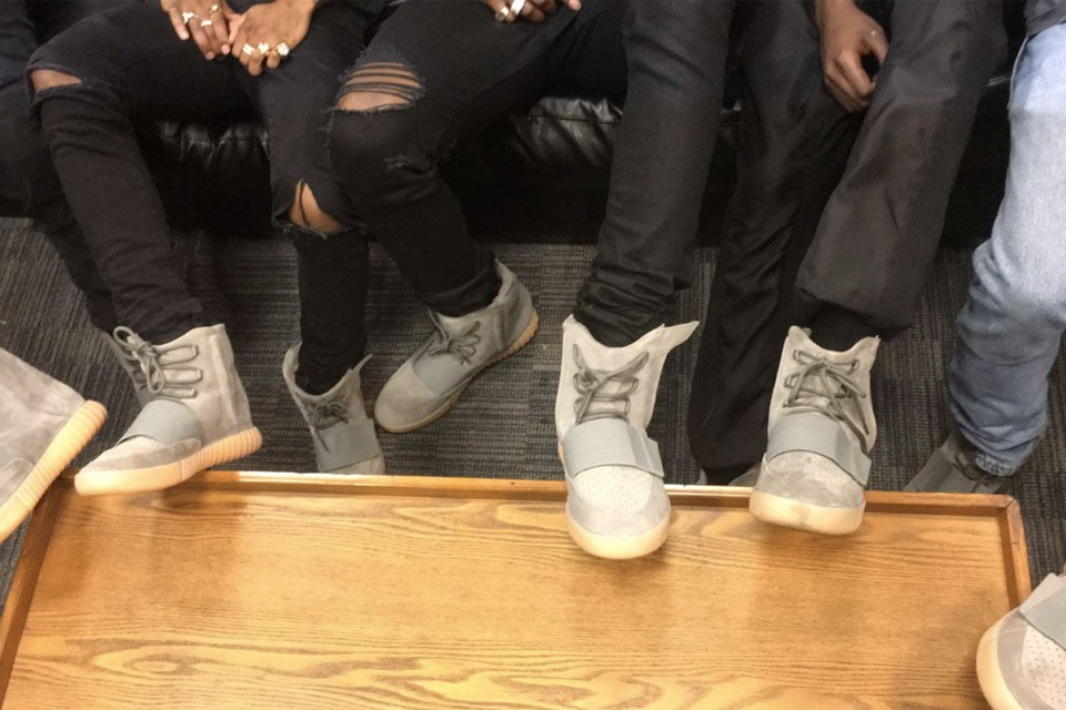 buy popular 88ad0 875bd GOOD Music Stomped The Summer Jam Stage In Unreleased Yeezy ...