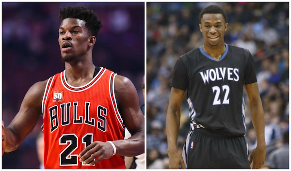 Jimmy Butler Andrew Wiggins