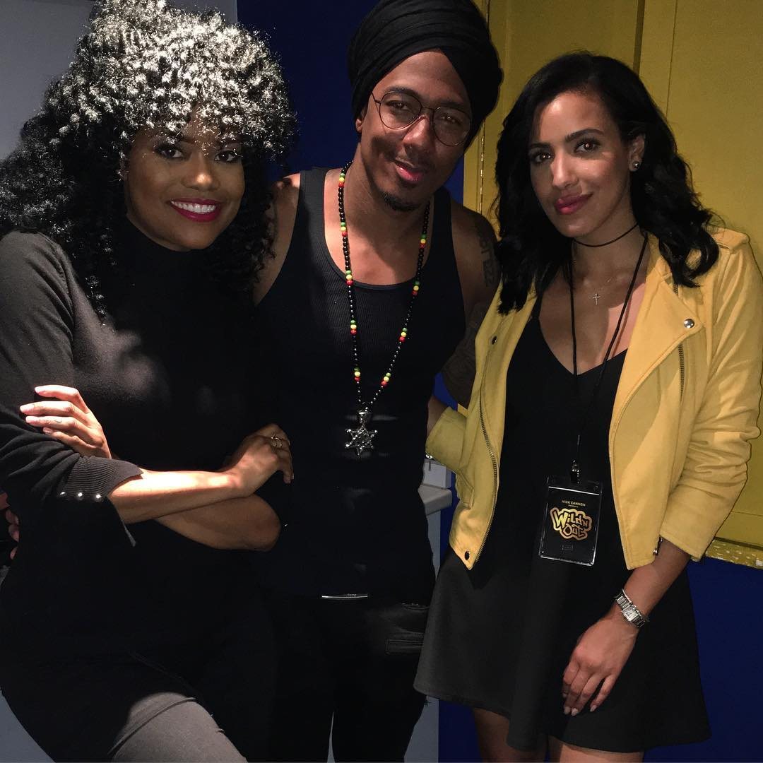 Karen Civil and Julissa B attended Nick Cannon's London show.