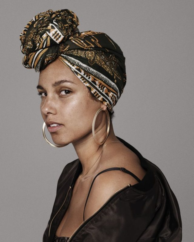 Alicia Keys Talks