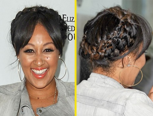 tamera-mowry-halo-french-braids