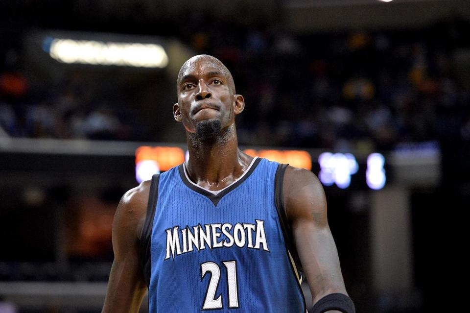 Kevin Garnett is Contemplating Retirement