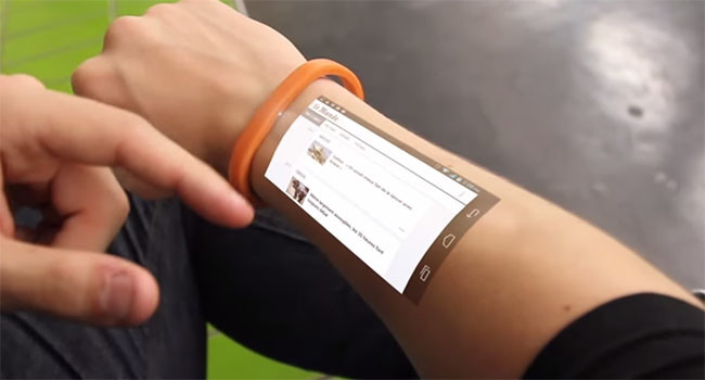 Touch Screen Capability on Your Own Skin Will Soon be Possible