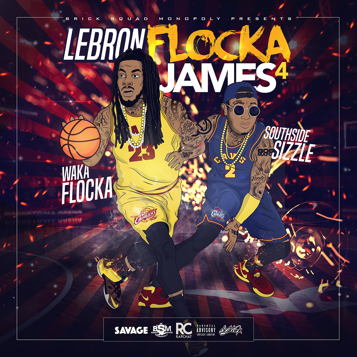 Walka Flocka and Southside Release 'Waka Flocka James 4' Mixtape