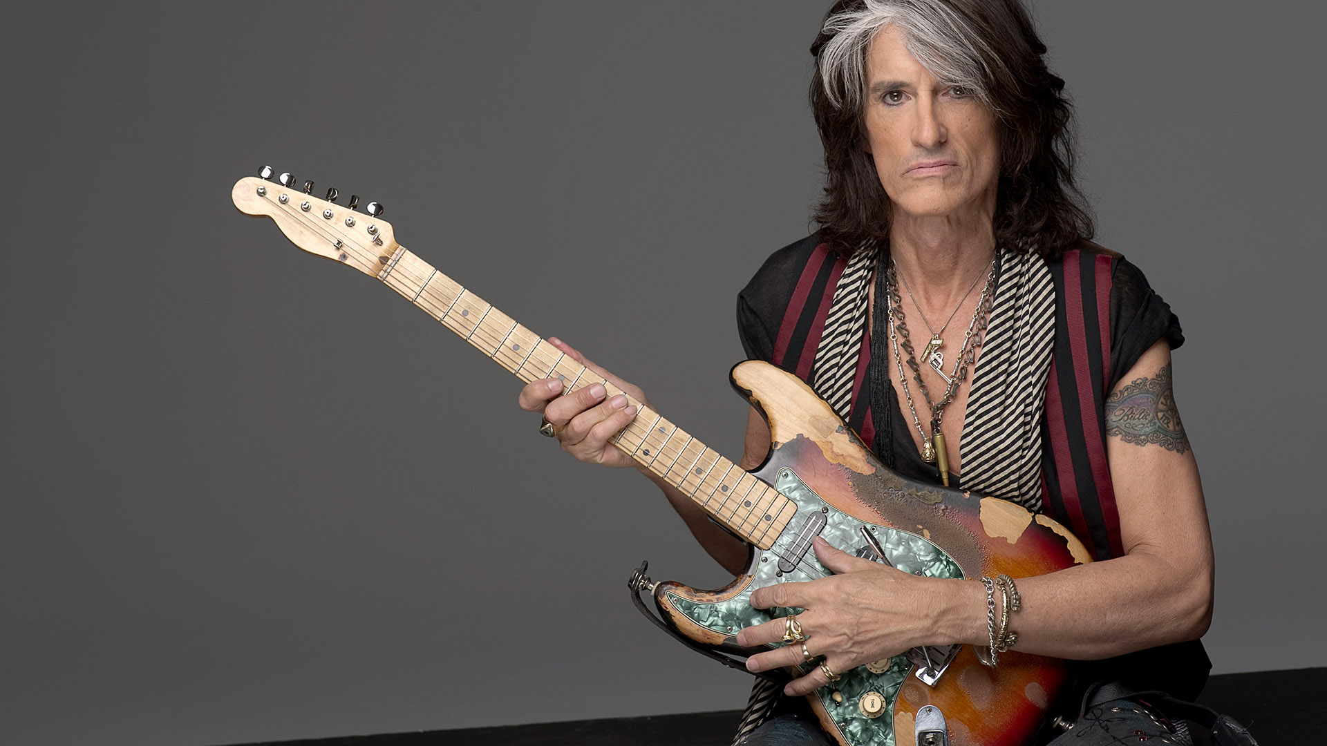 Aerosmith guitarist Joe Perry hospitalised after collapsing on stage in Brooklyn, NYC