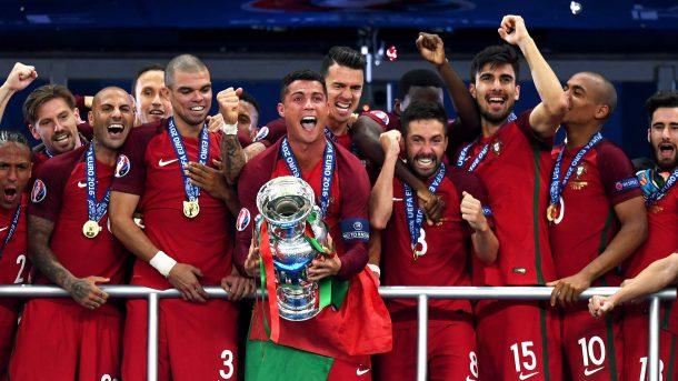 ronaldo portugal euro
