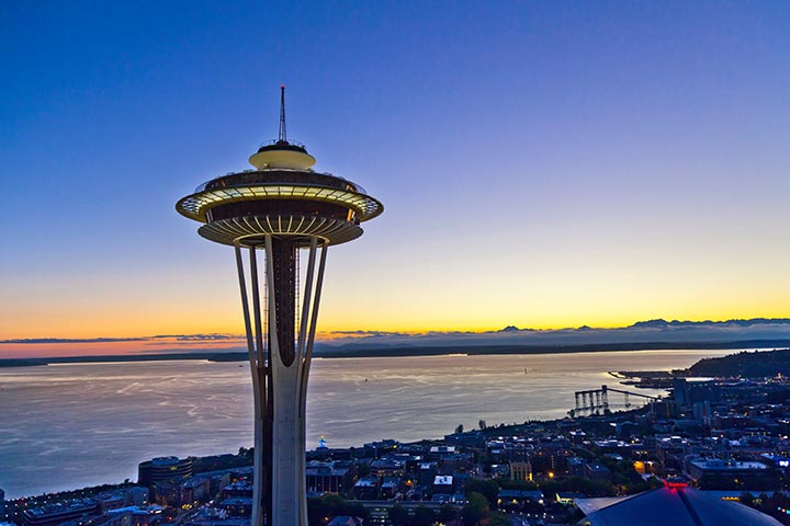 Why Was A Man Dangling From The Space Needle In Seattle?