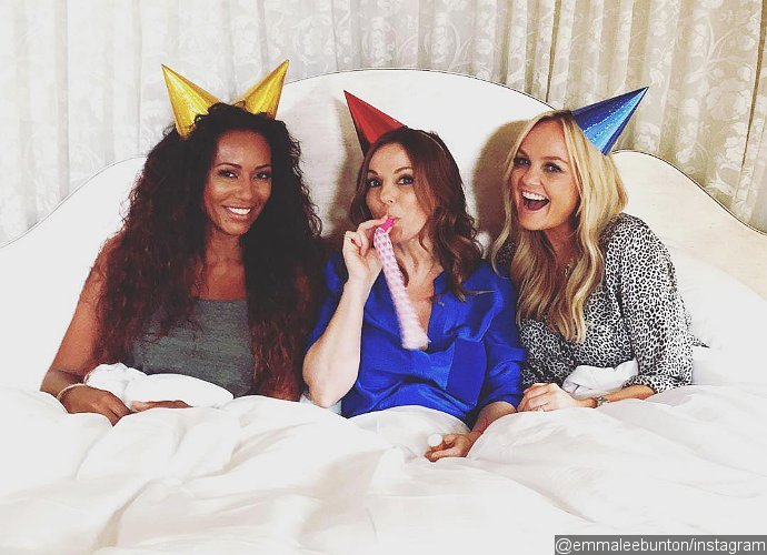 spice girls reunite as trio called gem for th anniversary of wannabe