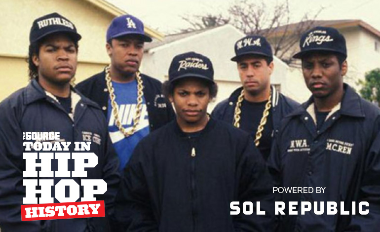 Today In Hip Hop History Nwa Releases Straight Outta Compton 28
