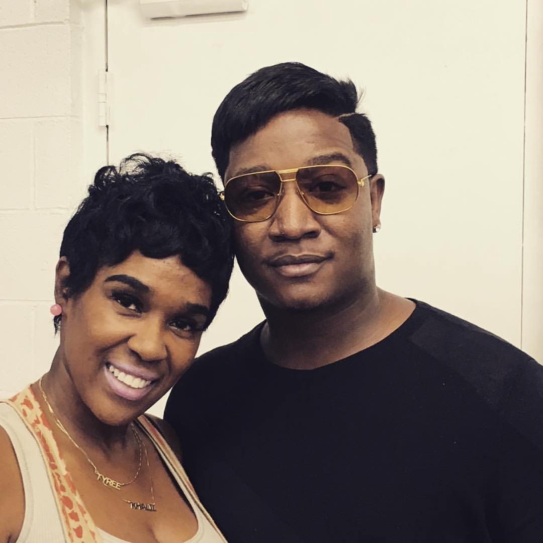 young joc has an interesting new hair style - the source