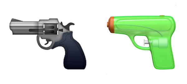 Apple to Replace Pistol Emoji With Green Water Gun Emoji
