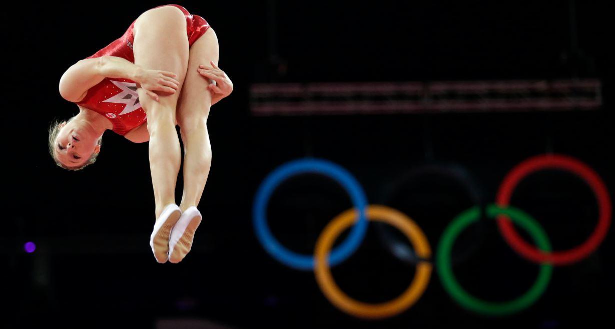trampoline equipment rules history rio  olympics uniforms