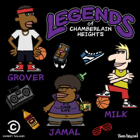 Legends of Chamberlain Heights TV series on Comedy Central season  canceled or renewed e