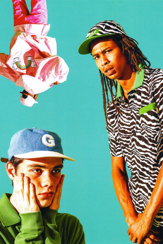 eae6b610b5c0 Tyler the Creator Drops Lively Golf Wang Fall Winter 2016 Collection ...