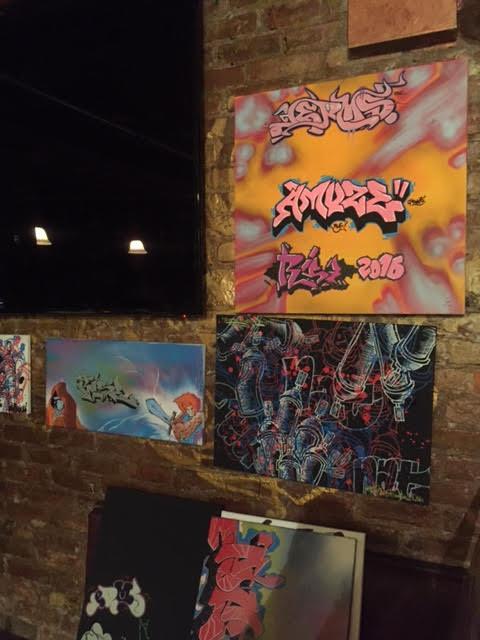 Exhibit Entitled Live Art Teen 120