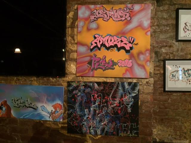 Exhibit Entitled Live Art Teen 73