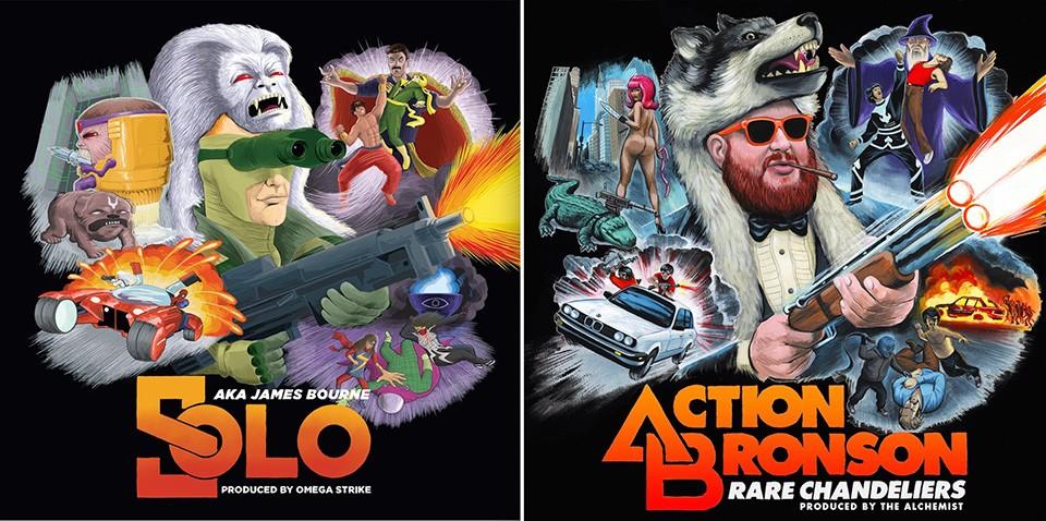 marvel comics hip hop albums