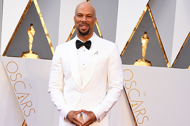 HOLLYWOOD, CA - FEBRUARY 28:  Singer Common attends the 88th Annual Academy Awards at Hollywood & Highland Center on February 28, 2016 in Hollywood, California.  (Photo by Steve Granitz/WireImage)
