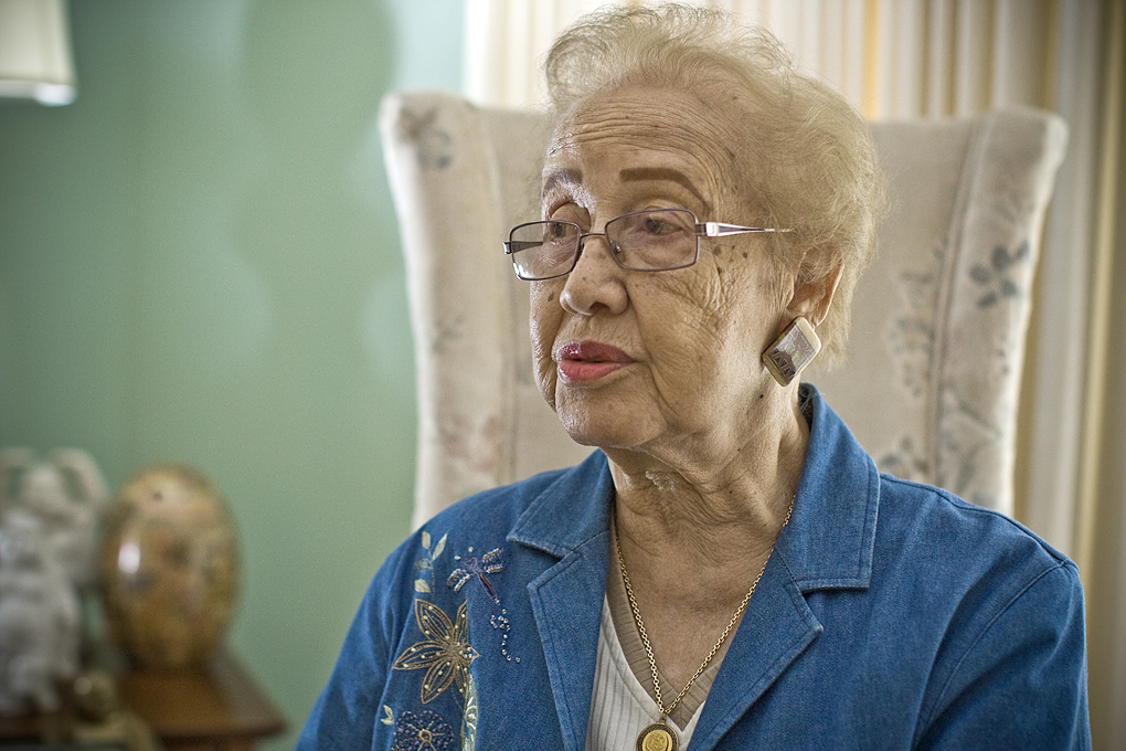 Katherine Johnson in