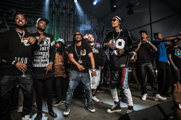 Wiz khalifa s taylor gang entertainment inks deal with atlantic records the source - Gang gang ...