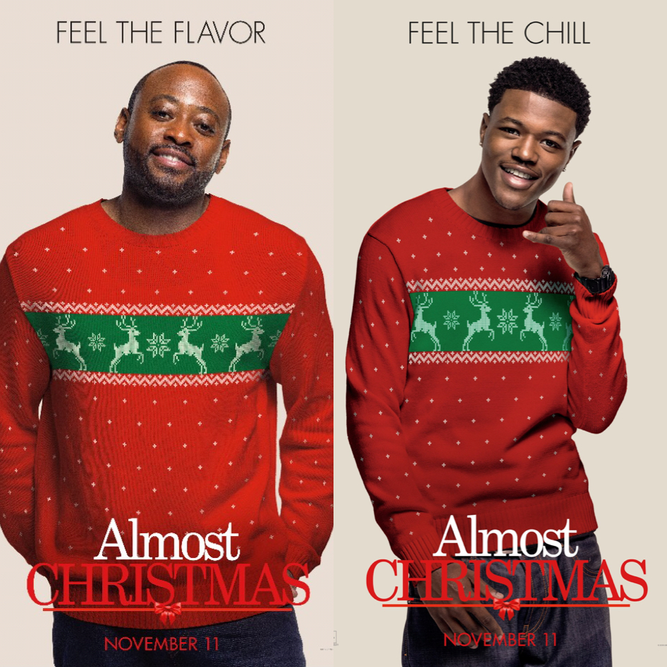 Almost Christmas Movie.Interview Omar Epps Dc Young Fly Hilariously Talks New