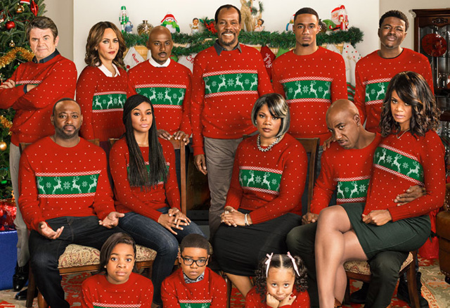 'Almost Christmas' Cast