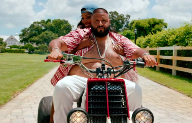 DJ Khaled Drops The Visuals For